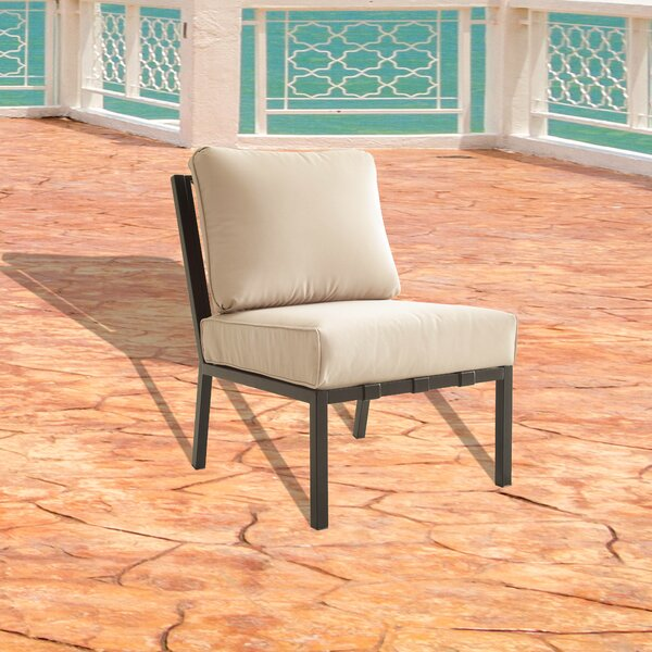 Gosling Patio Chair with Cushion by Red Barrel Studio