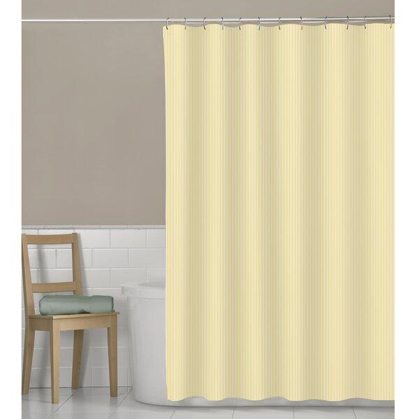 Murakami Seersucker Stripe Shower Curtain by Beachcrest Home