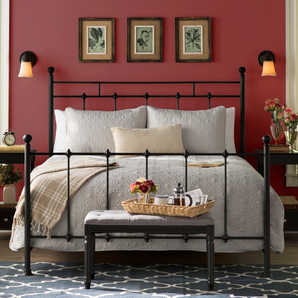 Forreston Queen Panel Bed by Charlton Home