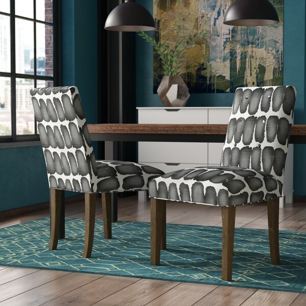 Lozano Upholstered Dining Chair (Set of 2) by Modern Rustic Interiors