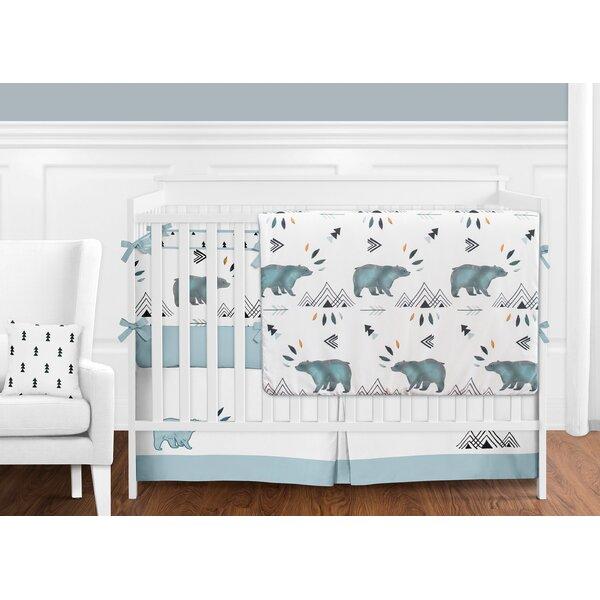 Bear Mountain 9 Piece Crib Bedding Set (Set of 9) by Sweet Jojo Designs
