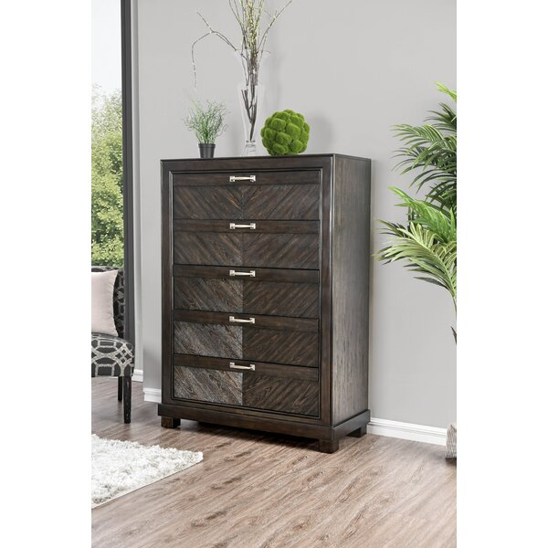 Gilstrap 5 Drawer Chest by Wrought Studio