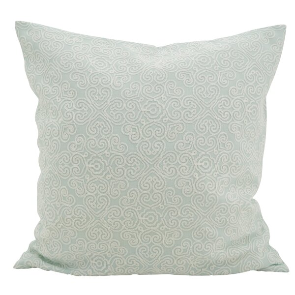 Vanvalkenburg Stitches Down Filled Throw Pillow by Ophelia & Co.