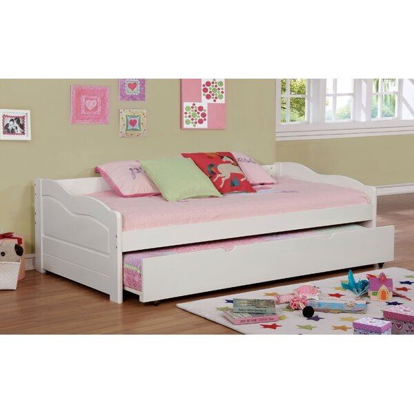 Sunset Twin Daybed with Trundle by Hokku Designs Hokku Designs