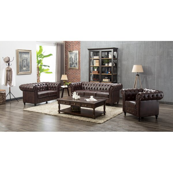 Teressa 3 Piece Living Room Set by Darby Home Co