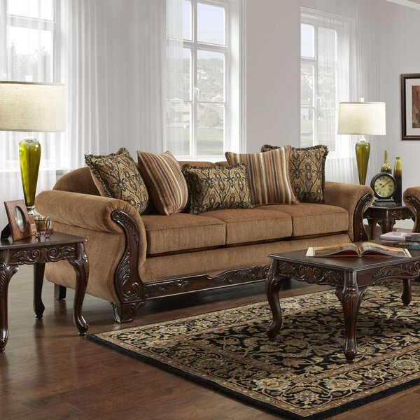 Perfect Brands Caulkins Sofa by Astoria Grand by Astoria Grand