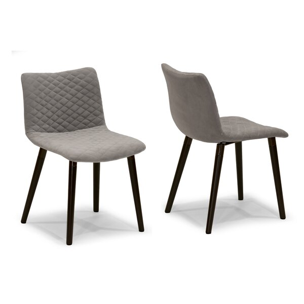 Upholstered Dining Chair (Set of 2) by Glamour Home Decor