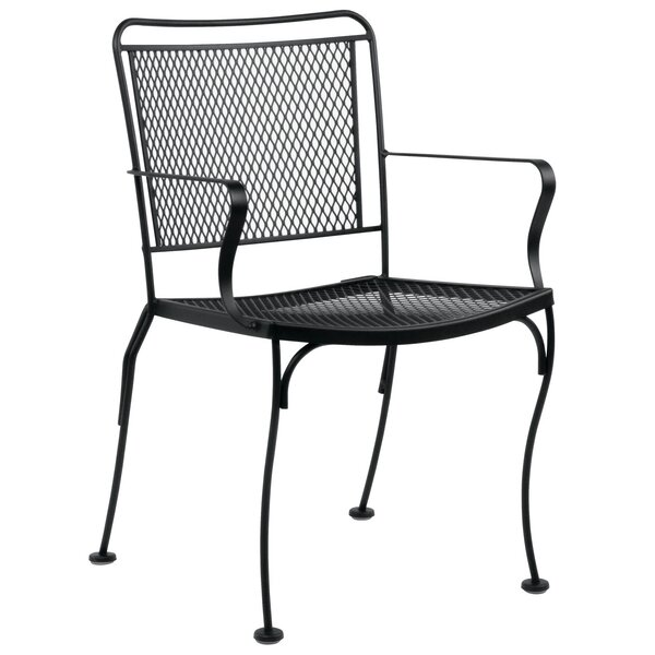 Constantine Stacking Patio Dining Chair by Woodard