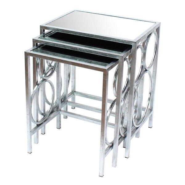 3 Piece Nesting Table Set by Teton Home