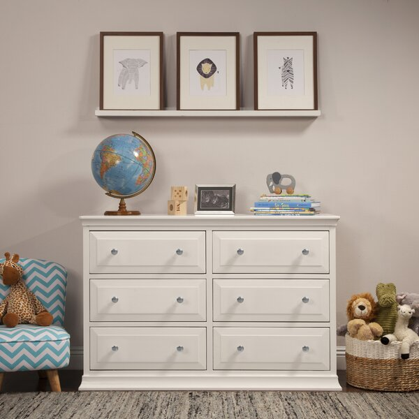 Signature 6 Drawer Double Dresser by DaVinci