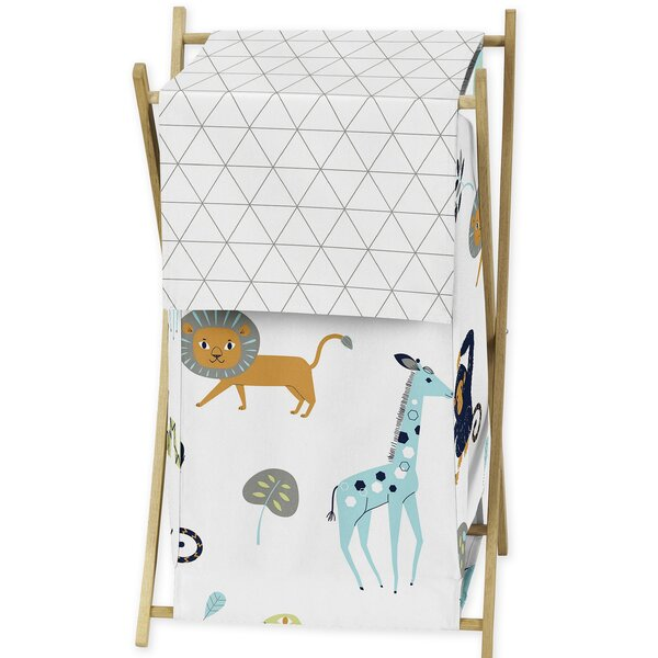 Mod Jungle Laundry Hamper by Sweet Jojo Designs