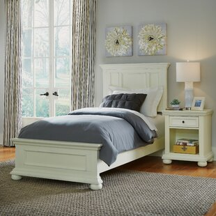 Krogman Panel 2 Piece Bedroom Set By Alcott Hill