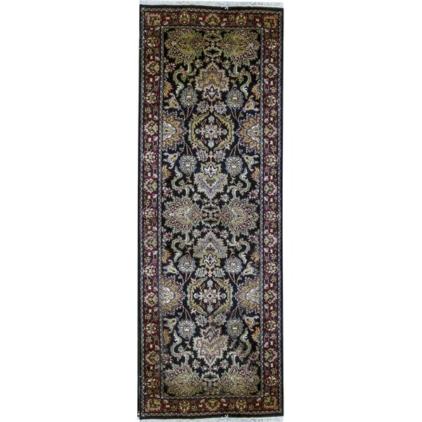 Chelsea Hand Knotted Wool Brown/Yellow/Beige Rug