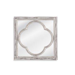 One Allium Way Square Frame Accent Mirror