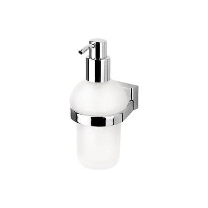 BloQ Wall Mount Soap Dispenser by Geesa by Nameeks