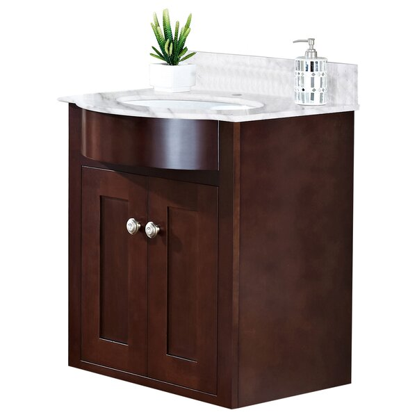 Kester 24 Rectangle Single Bathroom Vanity Set by Darby Home Co