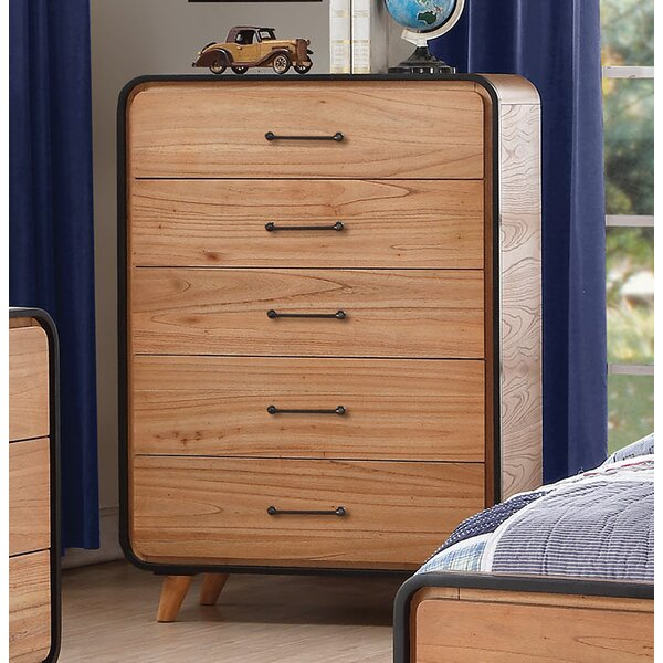 Carnamaddy 5 Drawer Chest by Harriet Bee