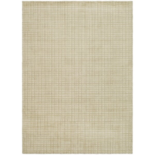 Bolick Beige Area Rug by Wrought Studio