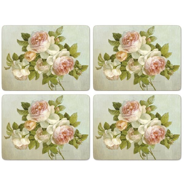 Antique Roses Placemat (Set of 4) by Pimpernel