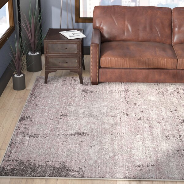 Costa Mesa Light Gray/Purple Area Rug by Trent Austin Design
