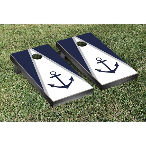 Anchor Cornhole Game Set by Victory Tailgate