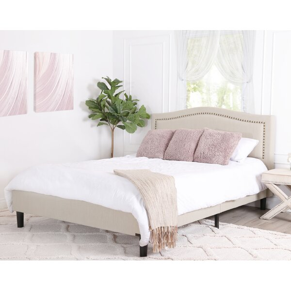 Windsor Queen Upholstered Platform Bed By Darby Home Co by Darby Home Co 2020 Sale