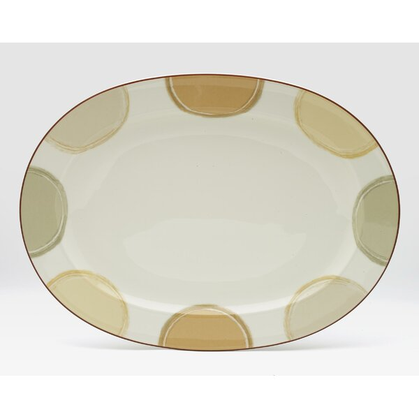 Mocha Java Oval Platter by Noritake