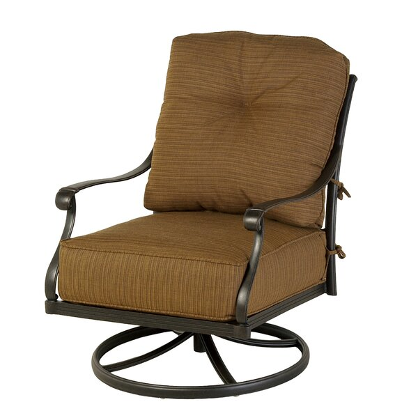 Merlyn Estate Club Rocking Chair with Cushions by Fleur De Lis Living