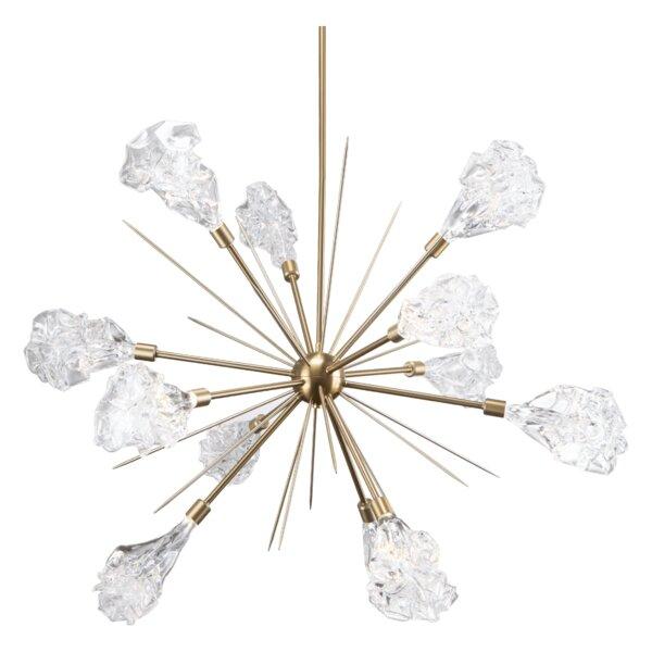Blossom 12 - Light LED Sputnik Sphere Chandelier by Hammerton Studio Hammerton Studio