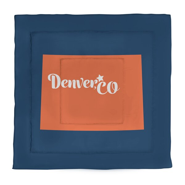 Denver Single Reversible Comforter