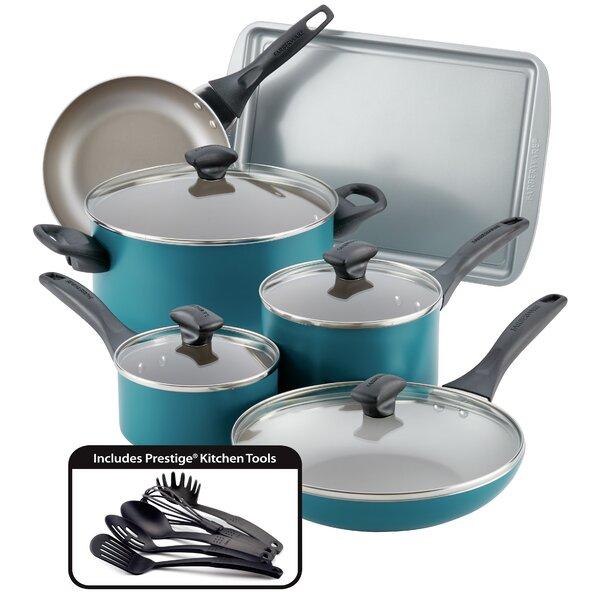 15 Piece Non-Stick Cookware Set by Farberware