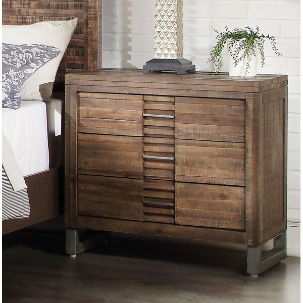 Alsup 3 Drawer Nightstand by Foundry Select