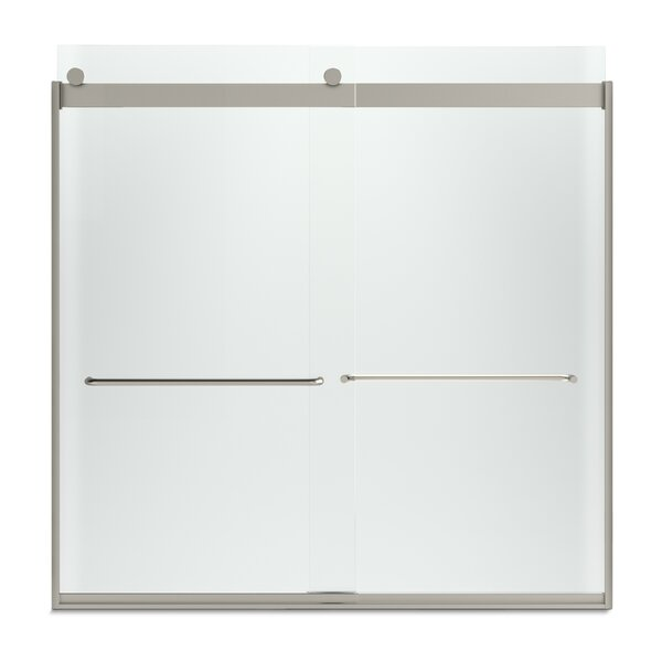 Levity 57 x 59.75 Bypass Bath Door with CleanCoat® Technology by Kohler