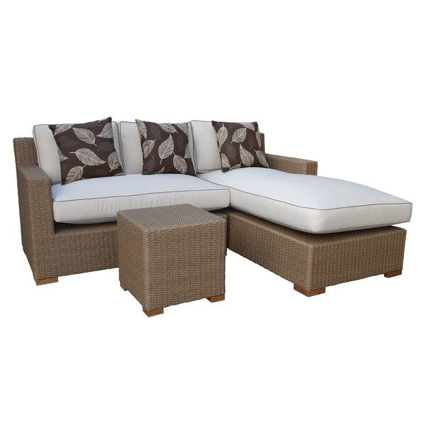 Hillsborough 3 Piece Sectional Set with Cushions by Latitude Run