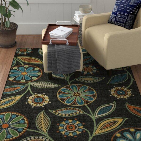 Adderley Radiant Gray/Stone Green Area rug by Winston Porter