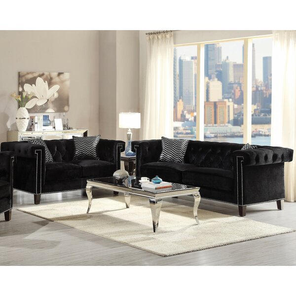 Gloversville 2 Piece Living Room Set by Infini Furnishings