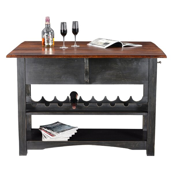 Sargeant Pub Table by Canora Grey