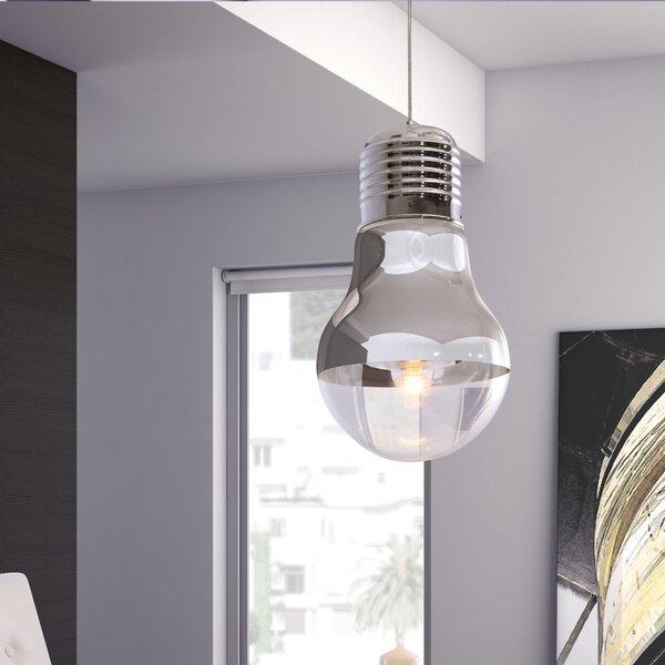 Gilese 1-Light Bulb Pendant by dCOR design