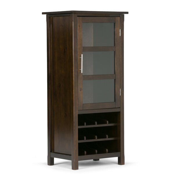 Agnon Bar Cabinet with Wine Storage by Alcott Hill Alcott Hill