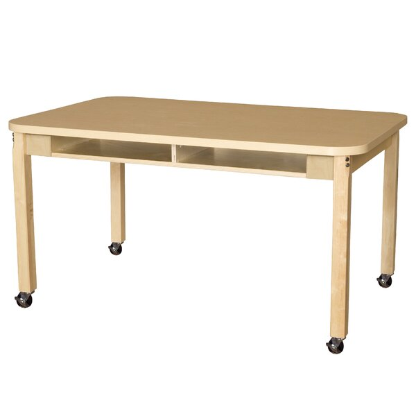Manufactured Wood 14 Multi-Student Desk by Wood Designs