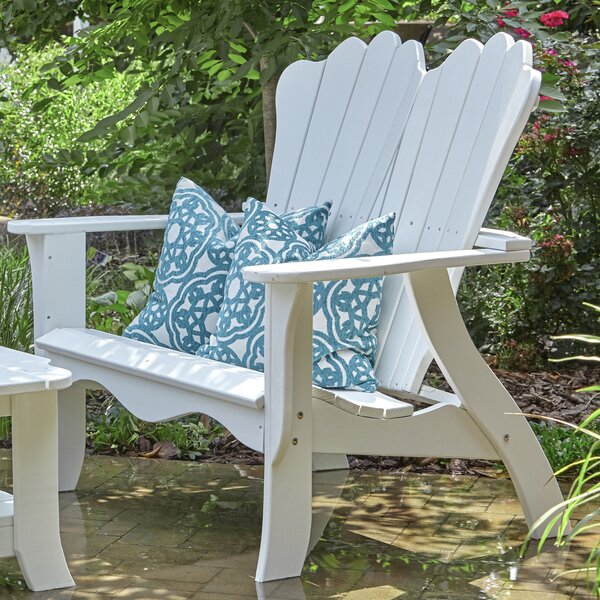 Annaliese Settee Pine Garden Bench by Uwharrie Chair