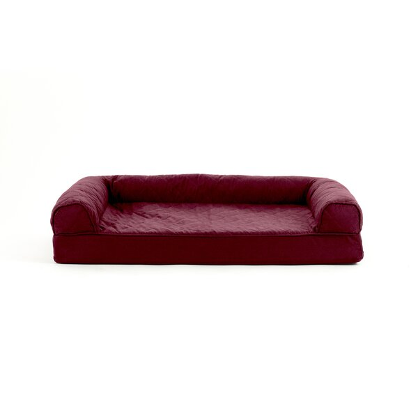 Nell Quilted Cooling Gel Dog Sofa by Tucker Murphy Pet