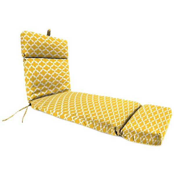 Wilcoxen Indoor/Outdoor Chaise Lounge Cushion by Winston Porter
