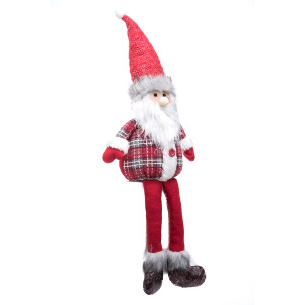 Plush Christmas Shelf Sitter by The Holiday Aisle