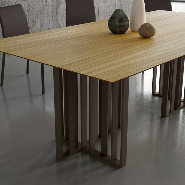 Spitalfields Dining Table by Modloft Black