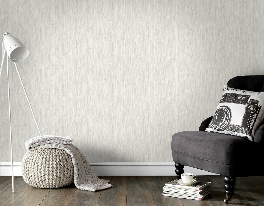 Swisher Grasscloth 33 x 20.5 in. Wallpaper Roll
