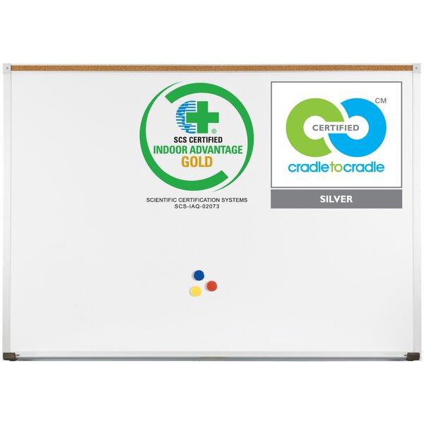 Green-Rite Deluxe Wall Mounted Whiteboard by Best-Rite®