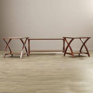 Beyers 3 Piece Coffee Table Set Andover Mills