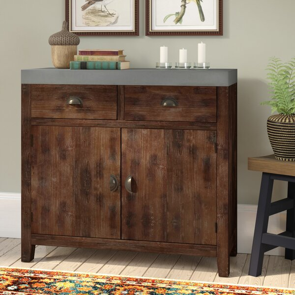 Brygon Creek 2 Drawer 2 Door Accent Cabinet by Loon Peak Loon Peak