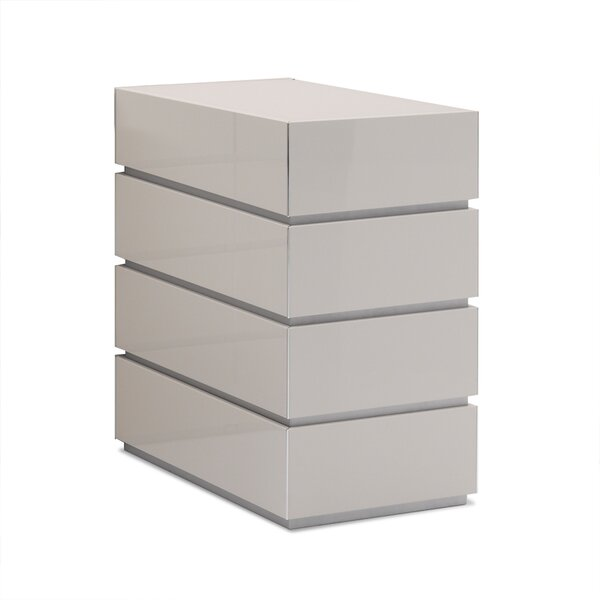 Potenza 4 Drawer Chest by Argo Furniture